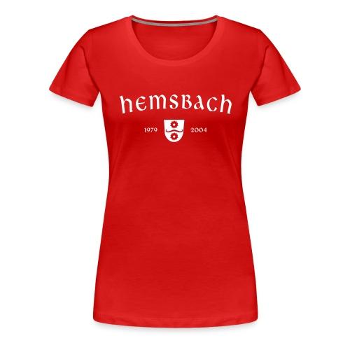 Girlieshirt Hemsbach OldSchool - Frauen Premium T-Shirt
