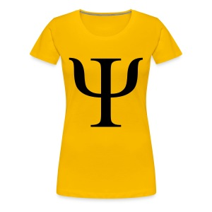 psi greek T-shirts - Vrouwen Premium T-shirt