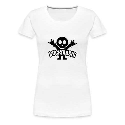 Camiseta chica RockMusic - Camiseta premium mujer
