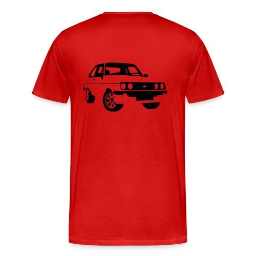 Escort RS MKII black - Men's Premium T-Shirt