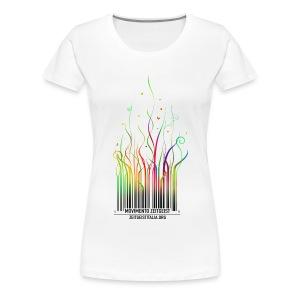 From barcode to freedom for Z-girls - Maglietta Premium da donna