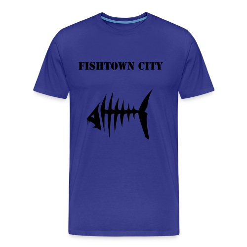 Fishtown city - Männer Premium T-Shirt