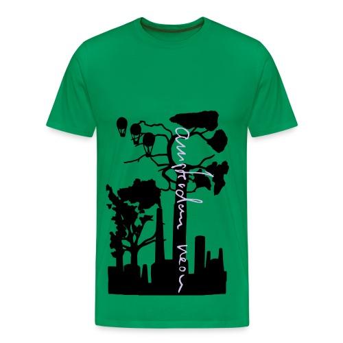 Kapitalismus von Amsterdam Neon - T-Shirt - Männer Premium T-Shirt