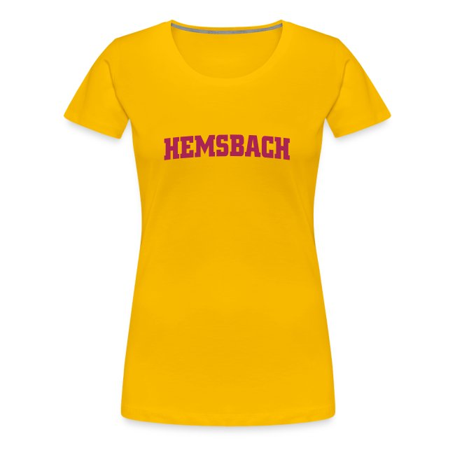 Girlieshirt Hemsbach