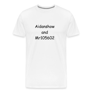 aidanshow and Mr105602 men T-shirt - Men's Premium T-Shirt