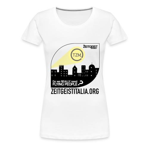 Zeitgeist Heroes for Z-girls - Maglietta Premium da donna