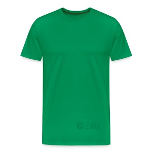 WOOD -  GOAL - Men's Premium T-Shirt