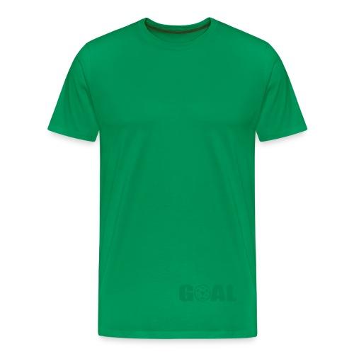 WOOD -  GOAL - Men's Premium T-Shirt