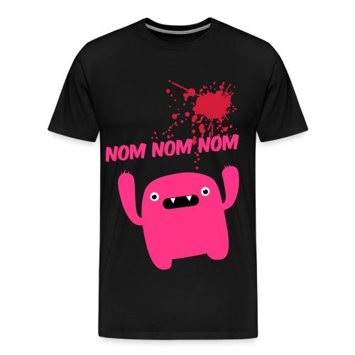 Om Nom Nom - Men's Premium T-Shirt