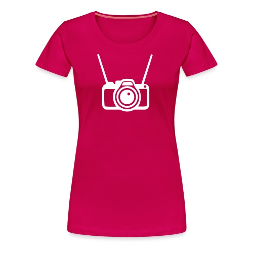 Camifoto rojiblanca - Camiseta premium mujer