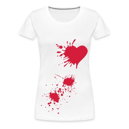 My Heart Is Bleeding (Women) - Women's Premium T-Shirt
