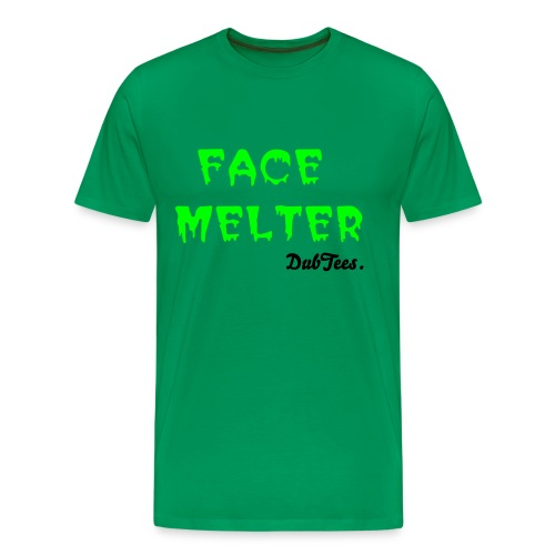 Face Melter Tee by DubTees. - Men's Premium T-Shirt
