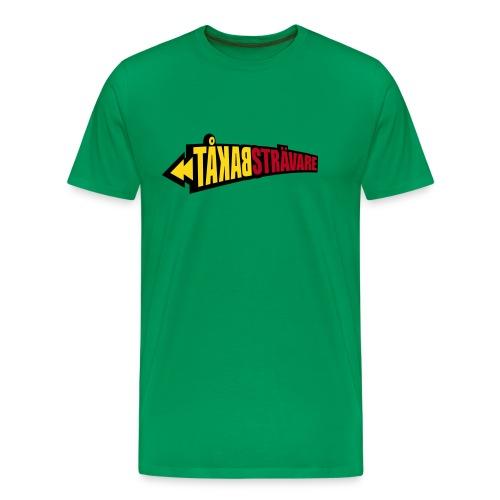 BAKÅTSTRÄVARE T-shirts - Premium-T-shirt herr