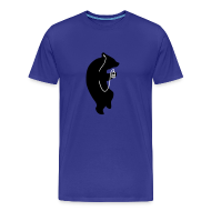 T-Shirts ~ Männer Premium T-Shirt ~ Der Bär Groovt Männer T-Shirt