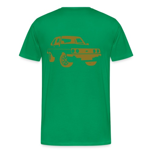 Escort RS MKII gold - Men's Premium T-Shirt