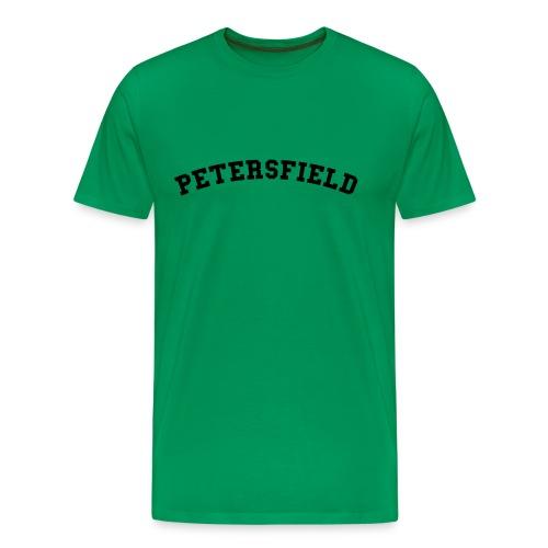 Petersfield Retro College Style - Men's Premium T-Shirt