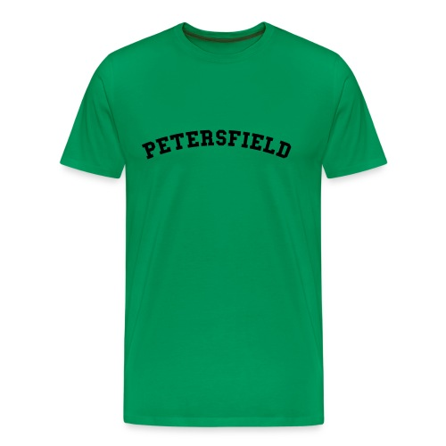 Petersfield Retro College Style - Men's Premium T-Shirt