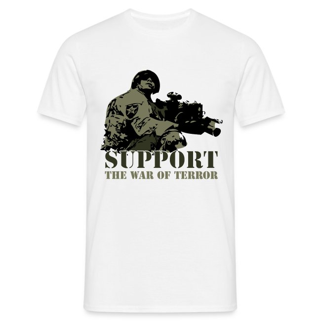 Support the war of terror