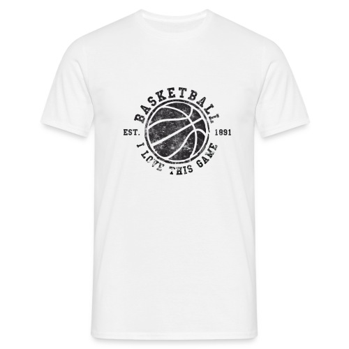 Basketball - I Love This Game - Men's T-Shirt