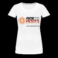 Camisetas ~ Camiseta premium mujer ~ R2R horiz girl