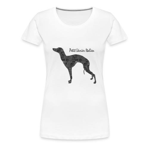 T-Shirt Pli - T-shirt Premium Femme