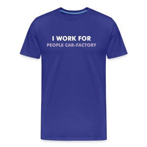 People Car Factory - Frontseite - Männer Premium T-Shirt