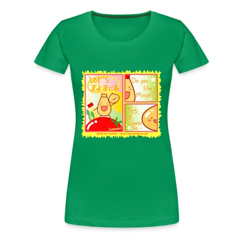 Mayo Comic - Women's Premium T-Shirt