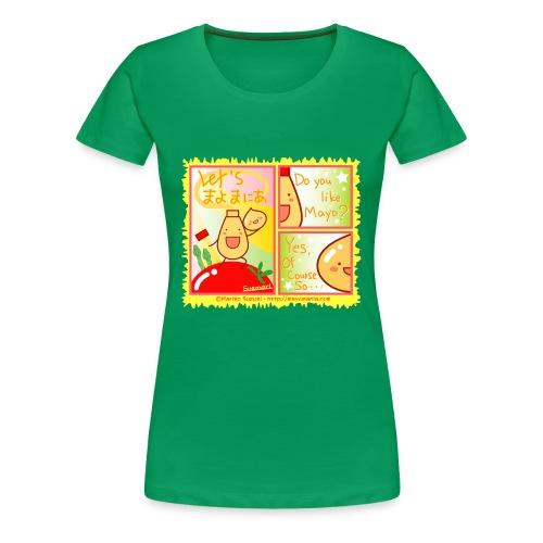 Mayo Comic - Women's Premium T-Shirt