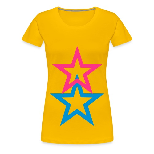 sternschnuppe - Frauen Premium T-Shirt