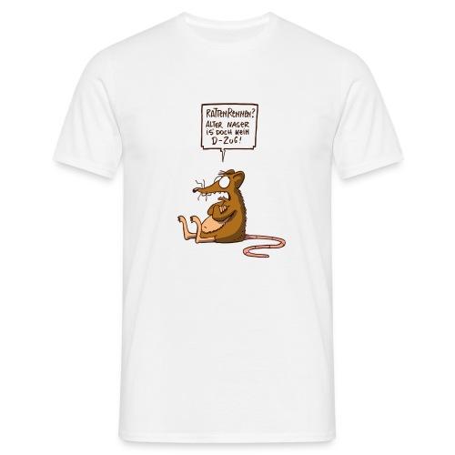 Rattenrennen color - Männer T-Shirt