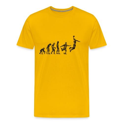 Basketball Evolution - Men's Premium T-Shirt