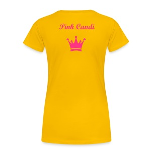 Pink Candi Crown T-Shirt - Women's Premium T-Shirt