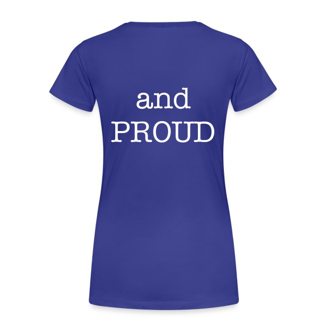 SCOUT and PROUD Ladie T-Shirt