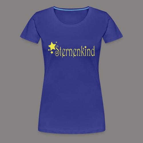 sternenkind - Frauen Premium T-Shirt