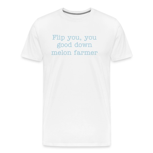Melon farmer t shirt - Men's Premium T-Shirt