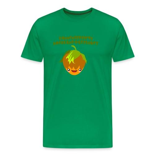 Sonnengereifte Hochland-Haselnuss- Männershirt - Männer Premium T-Shirt