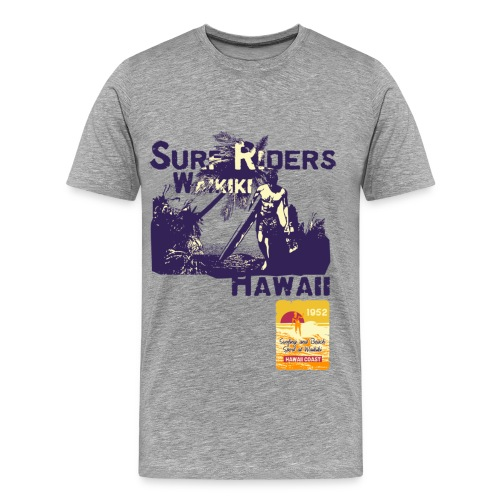 Viva El Toro! Surf Riders - Men's Premium T-Shirt