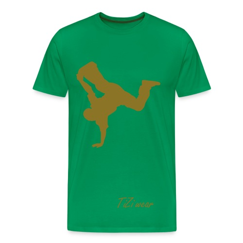 Men's TiZi BreakDance Tee - Men's Premium T-Shirt