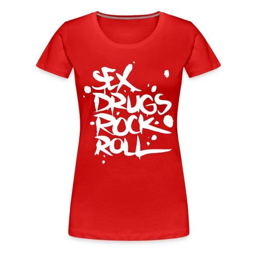 CHOK'SERIES STREET FEMME - T-shirt Premium Femme