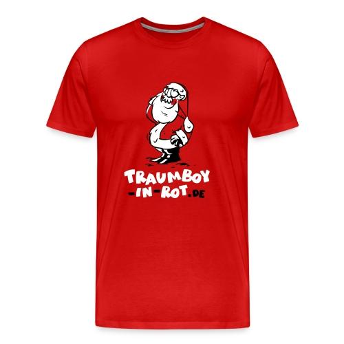 Männer-XXL-Shirt Traumboy-in-rot.de - Männer Premium T-Shirt