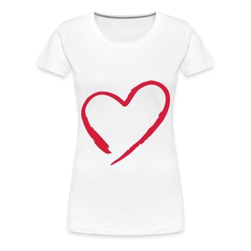 Verliebt? Dann musst Du dieses T-Shirt haben - Frauen Premium T-Shirt