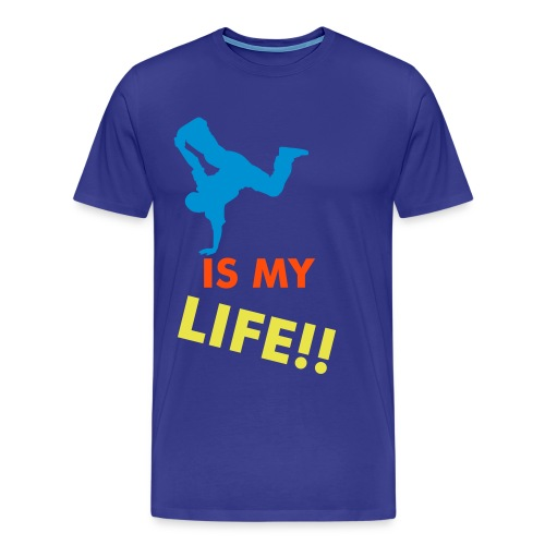 Dance is my life - Herre premium T-shirt