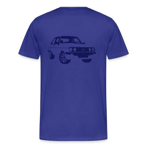 Escort RS MKII blue - Men's Premium T-Shirt