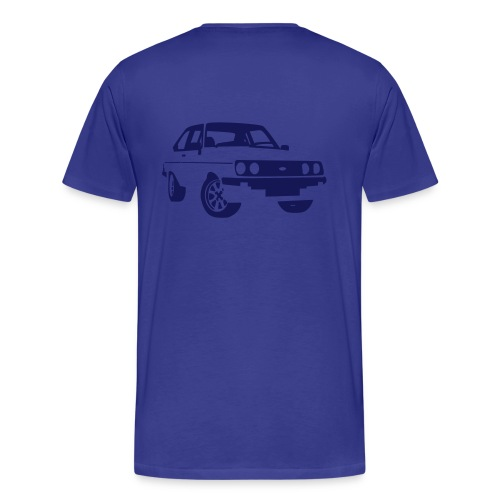 Escort RS MKII blue - Men's Premium T-Shirt