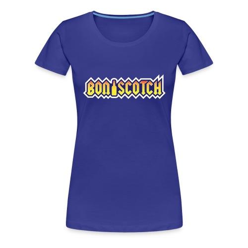 BonScotch T-Shirt für Damen - Frauen Premium T-Shirt
