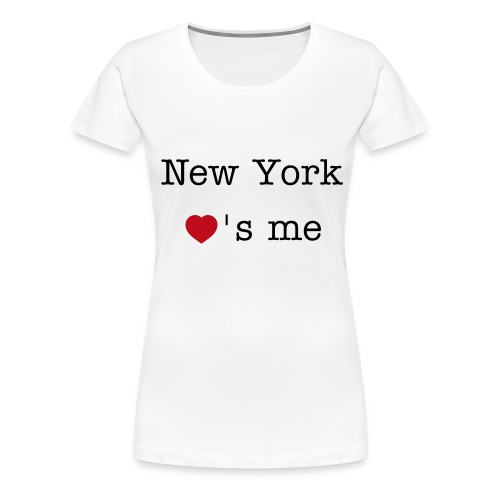 New York loves me - Frauen Premium T-Shirt