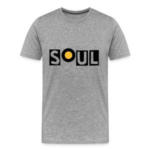 Soul with 7' Vinyl 'O'. - Men's Premium T-Shirt