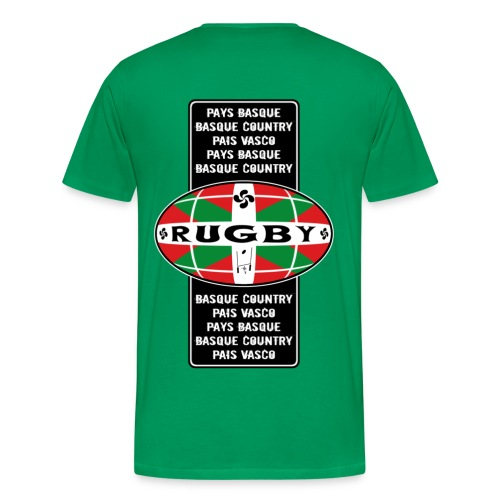 t-shirt rugby basque - T-shirt Premium Homme