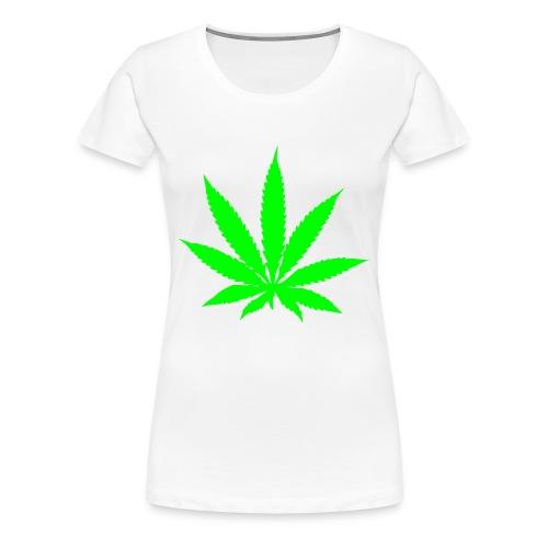 I Love Weed - Frauen Premium T-Shirt