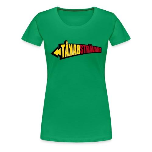 BAKÅTSTRÄVARE T-shirts - Premium-T-shirt dam